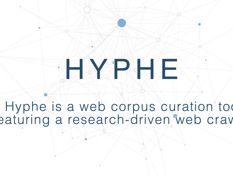 Exploring internet with Hyphe